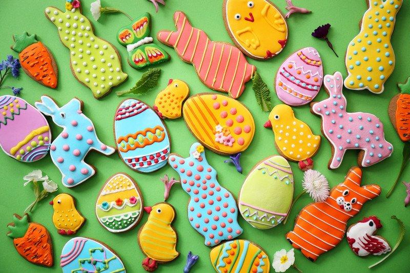 wielkanocne pierniki ciasteczka