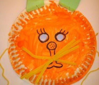 Bal dla dzieci. Maska kota