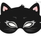 bal maskowy maska kota