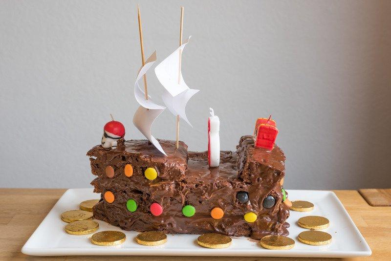 przepis na tort statek piracki