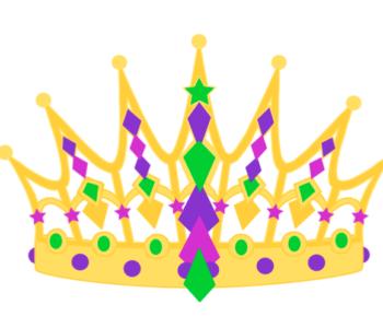 Korona księżniczki – szablon do wydruku