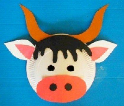 Maski-karnawałowe-Biedronka-i-Krowa