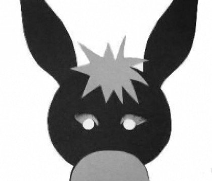 Maski karnawałowe – Osiołek i Zerbra