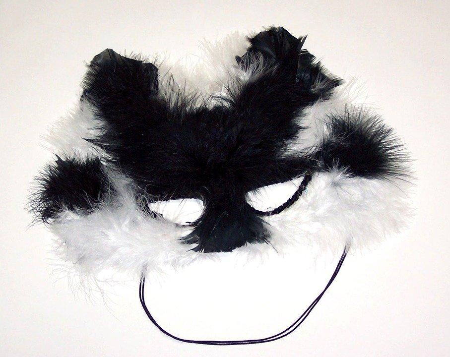 Maska karnawałowa kot