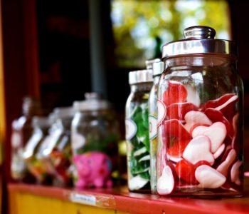 Słodki bukiet walentynkowy