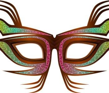 Maska dla prowadzącego bal