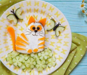 Przepis na kanapkę – wiosenny kotek