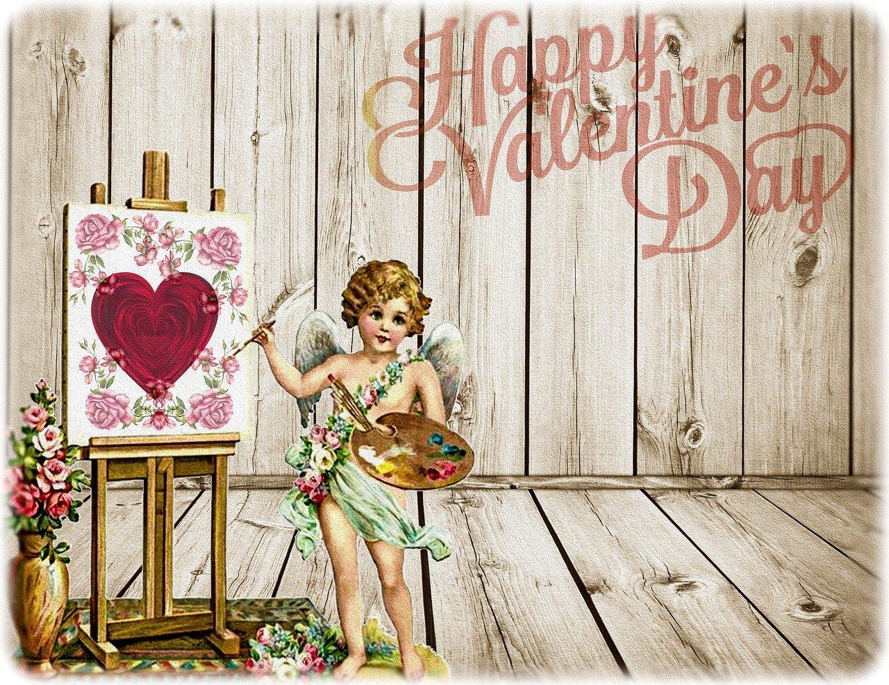 Walentynkowe życzenia dla dzieci na kartkę walentynkową