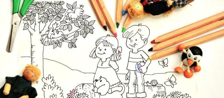 Wiosenne kolorowanki dla dzieci do druku darmowe malowanki
