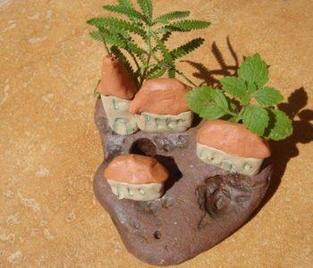 Lepienie z gliny – miasteczko