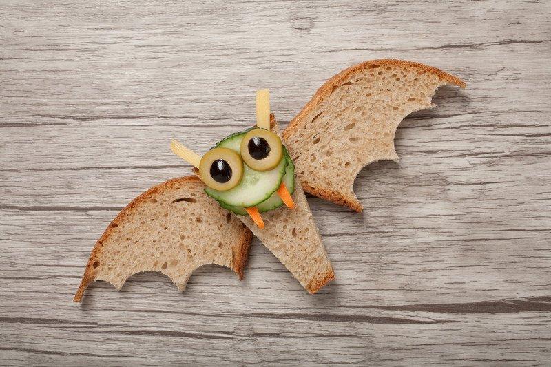przepis na kanapkę nietoperza