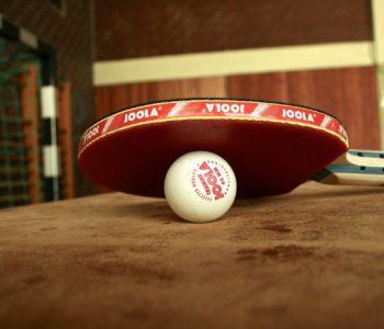 ping-pong piłeczka tenis stołowy