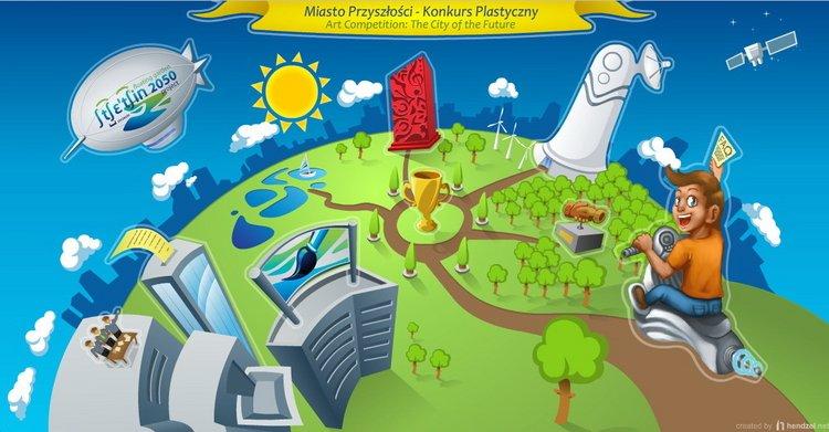 Konkurs plastyczny – Miasto Przyszłości