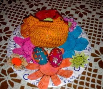 Dekoracyjny talerzyk na świąteczne smakołyki