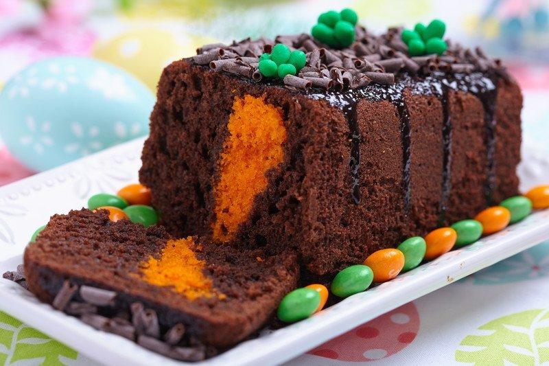 przepis na ciasto z marchewką w środku