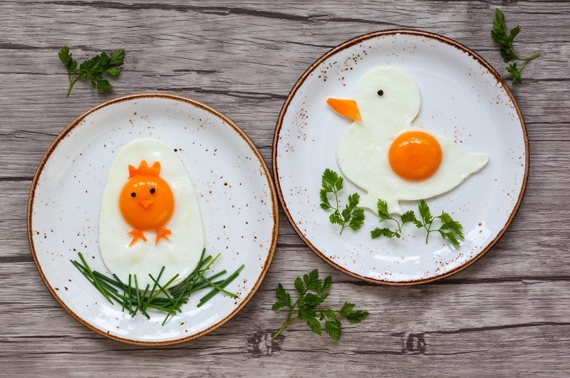przepis na jajka sadzone