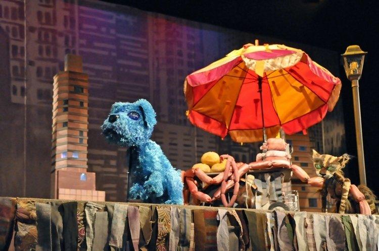 Niebieski piesek w Teatrze Arlekin