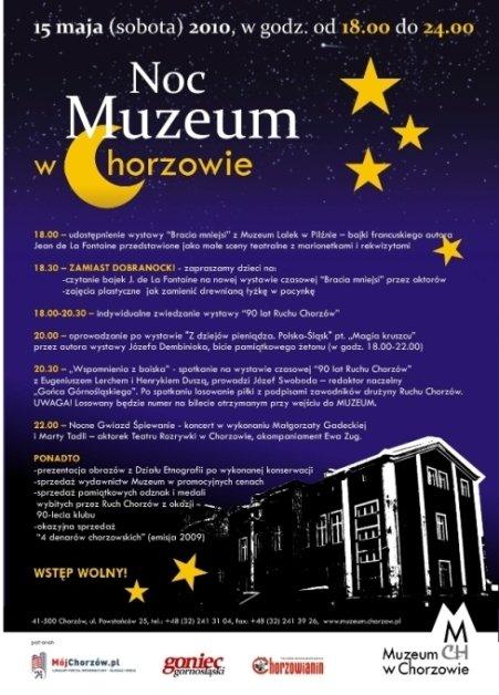 Noc w Muzeum w Chorzowie