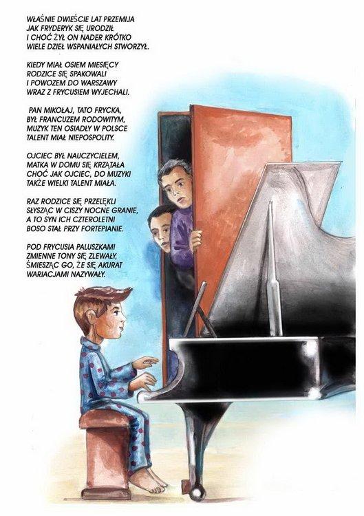 Wiatru tchnienie o Chopinie