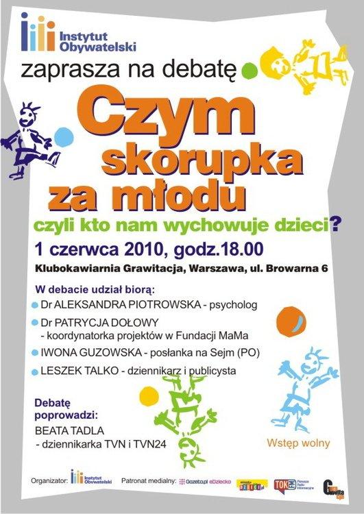 spotkanie dla rodziców w Warszawie