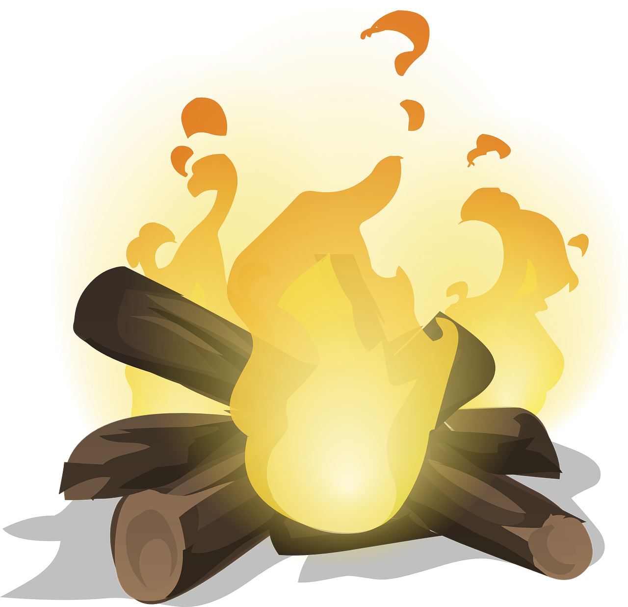 Płonie ognisko w lesie, piosenka harcerska, tekst i melodia