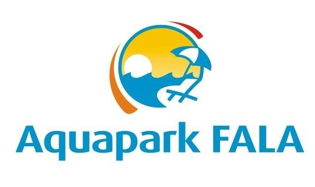 Logo Aquaparku Fala w Łodzi