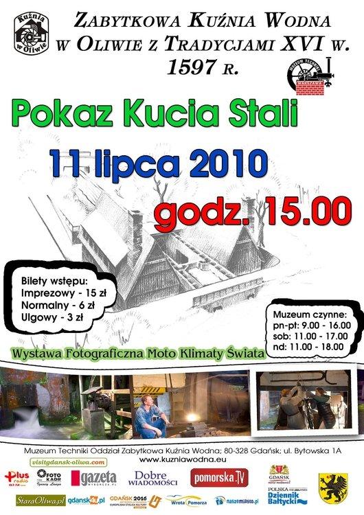 pokaz kucia stali – Gdańsk Oliwa