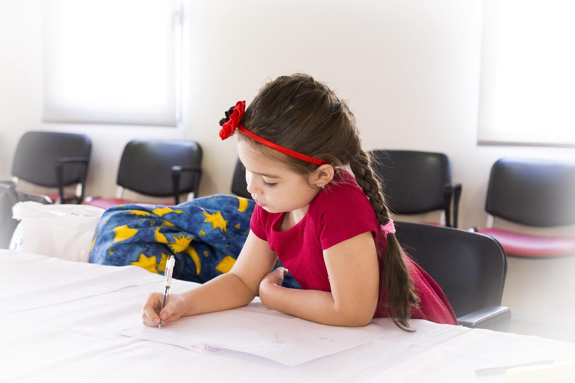 Dziecko w I klasie