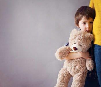 Dziecko płacze przy rozstaniu
