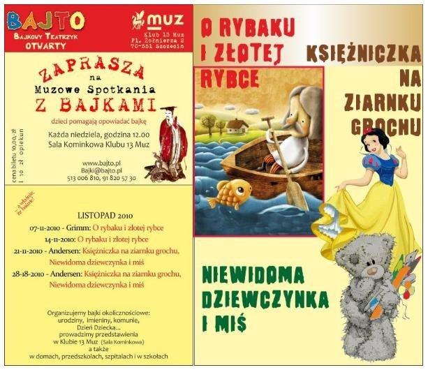Bajki dla Dzieci w Szczecinie