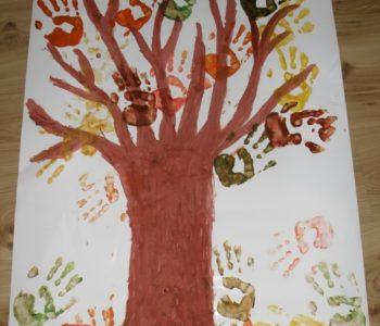 Rączkowe-drzewo