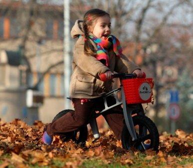 Rowerek bez pedałów dla dziecka