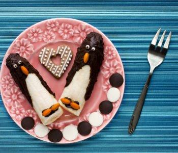 Przepis na pingwiny z banana w czekoladzie