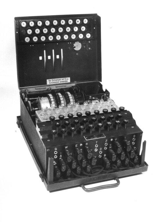 maszyna szyfrująca w Gdańsku