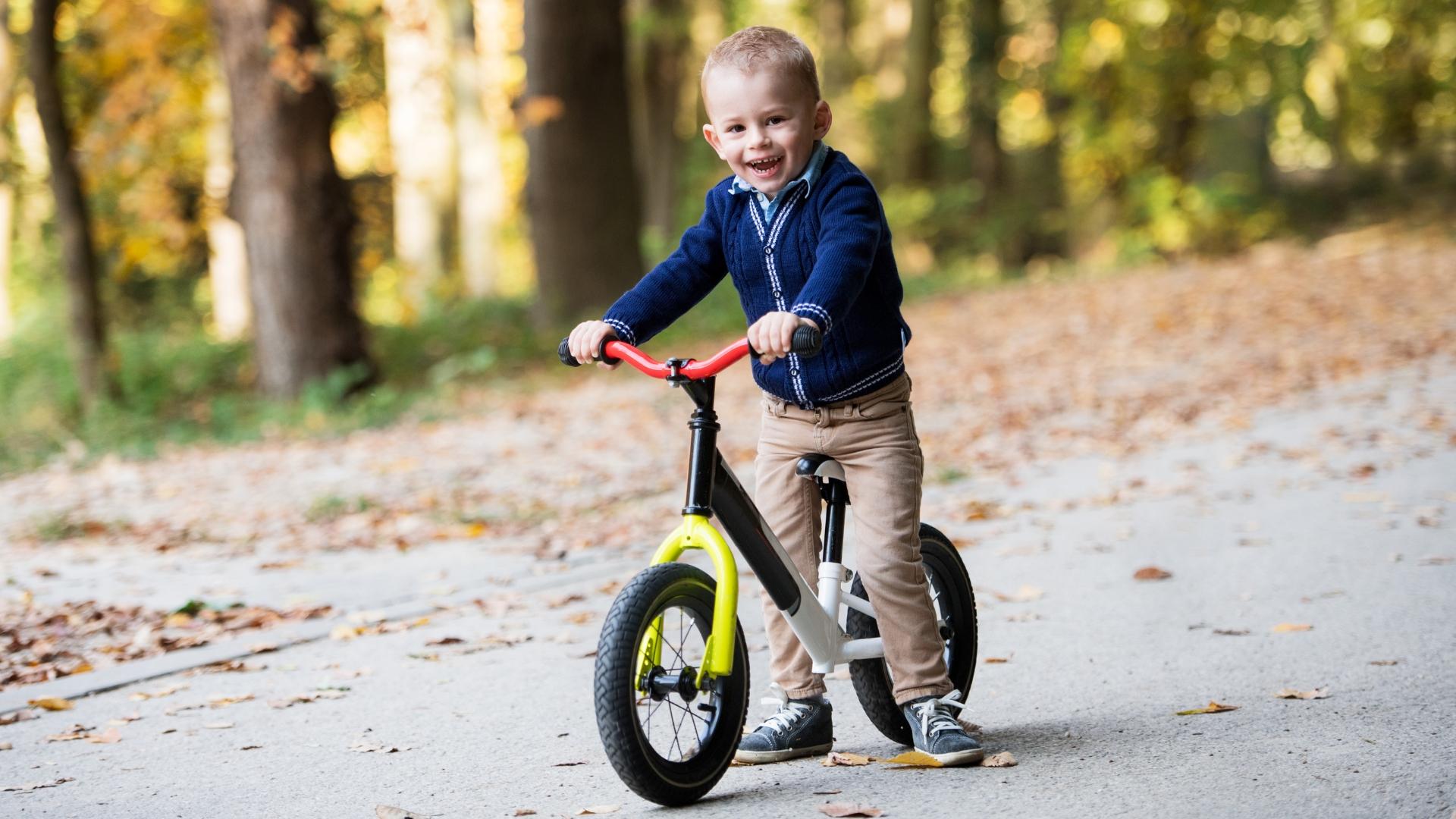 Rower bez pedałów dla dziecka