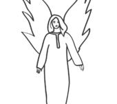 Uśmiechnięty anioł