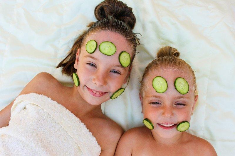 pomysły na Dzień Dziecka w domu, zabawy dla dzieci domowe spa
