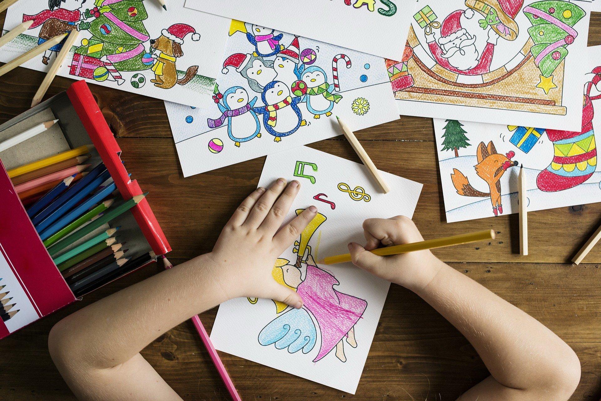 Kolorowanki do druku Boże Narodzenie 50 malowanek do pobrania za darmo