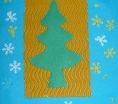 Łatwa-do-wykonania-kartka-świąteczna