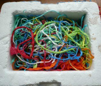 Kolorowe pudełko na skarby
