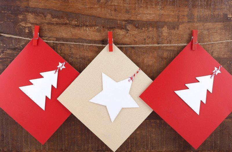 Jak zrobić kartkę świąteczną łatwo