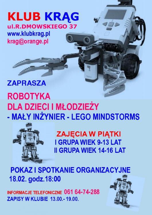 Robotyka dla dzieci w Poznaniu