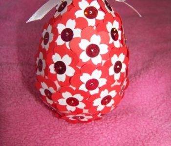 Jajko w kwiatki
