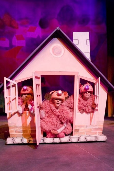 Przedstawienie dla dzieci w Teatrze Nowym w Zabrzu