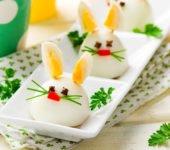 wielkanocne zajączki z jajek przepis