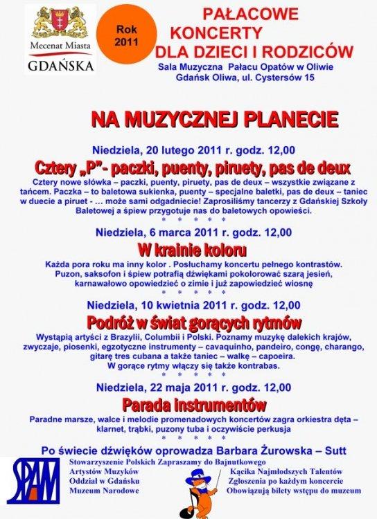 koncert dla dzieci i rodziców