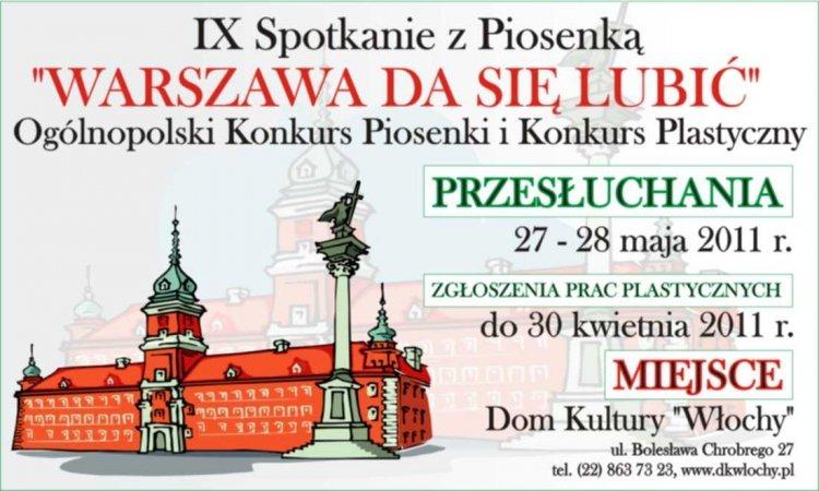 Ogólnopolski Konkurs Piosenki i Konkurs Plastyczny