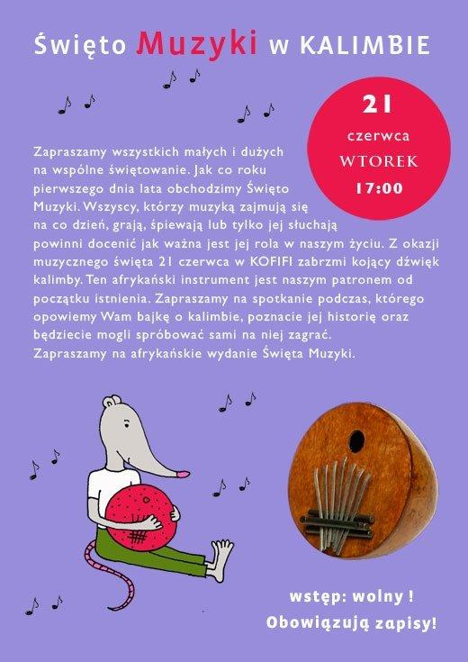Święto Muzyki w KALIMBIE