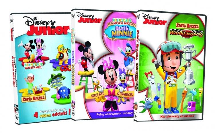 Disney Junior od 17 czerwca na DVD