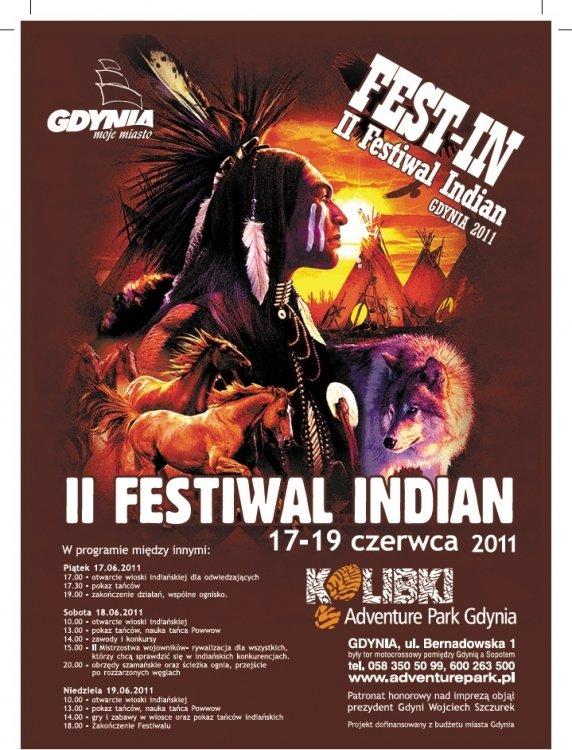 II Festiwal Indian w Gdyni